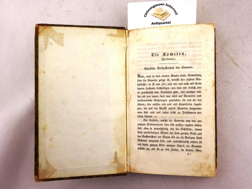 Vermischte Schriften. FÜNTER (5.) Band.: Schubert, Gotthilf Heinrich