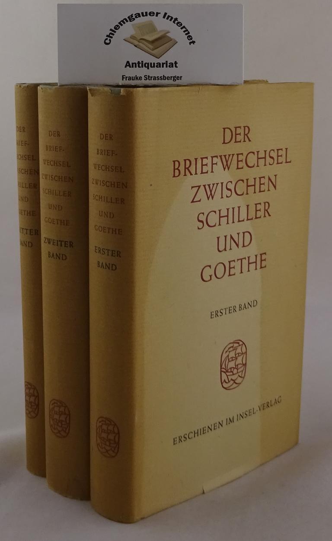 Der Briefwechsel zwischen Schiller und Goethe. 2: Schiller - Goethe: