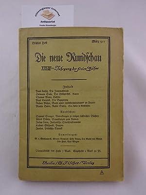 Einkehr. Erstdruck in: Die neue Rundschau. (: Mann, Thomas: