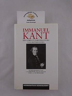 Immanuel Kant : Sein Leben in Darstellungen: Borowski, Ludwig Ernst