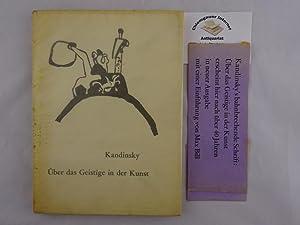 Über das Geistige in der Kunst. 4.: Kandinsky: