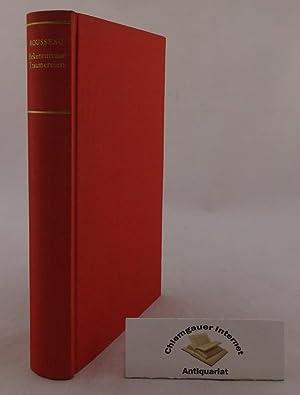 Die Bekenntnisse. Die Träumereien des einsamen Spaziergängers.: Rousseau, Jean-Jacques: