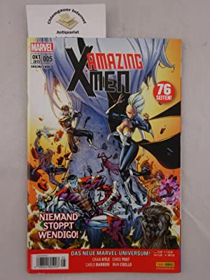X-Men Amazing. Niemand stoppt Wendigo!