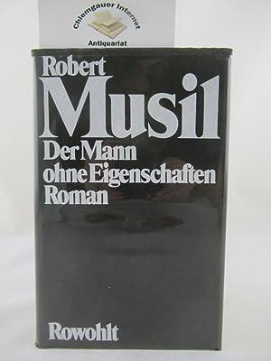 Gesammelte Werke. Band 1: Der Mann ohne: Musil, Robert: