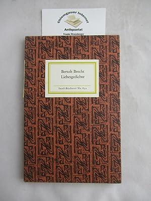 9783458088523 Liebesgedichte Abebooks Brecht Bertolt
