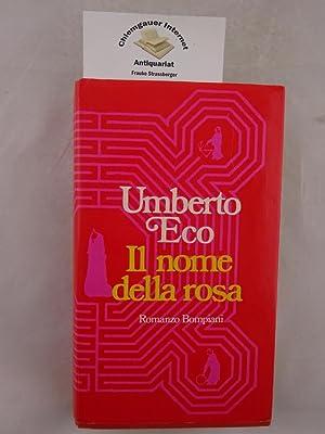 Il nome della rosa.: Eco, Umberto: