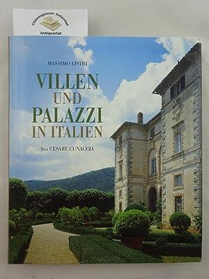 Villen und Palazzi in Italien. Übersetzung aus: Listri, Massimo und