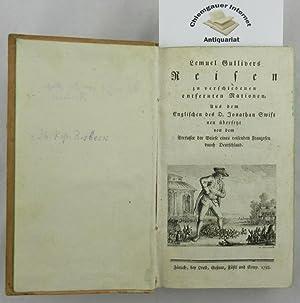 Lemuel Gullivers Reisen zu verschiedenen entfernten Nationen.: Swift, Jonathan: