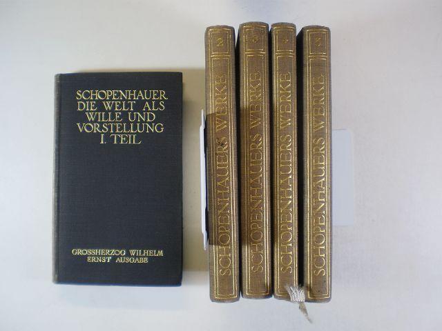 Grossherzog Wilhelm Ernst Ausgabe. Sämmtliche Werke in: Schopenhauer, Arthur