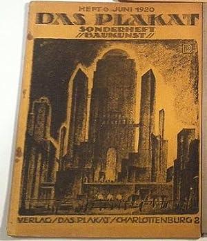 Das Plakat Jahrgang 11 Heft 6 Juni / June 1920: Hans Sachs