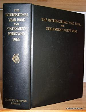 The international year book and statesmen's who's who 1966. (14th annual edition).