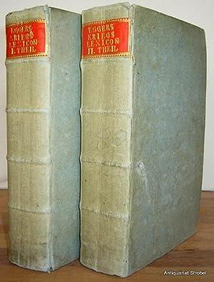 Neues Kriegs- Ingenieur- Artillerie- See- und Ritter-Lexicon,: Eggers, Jacob von.