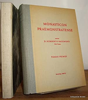 Monasticon Praemonstratense, id est historia circariarum atque: Backmund, Norbert.