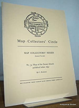 Maps of the Canary Islands published before 1850. A checklist.