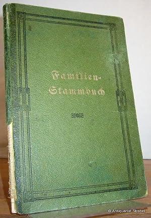 Familien-Stammbuch der Familie Herbrechtsmeier.