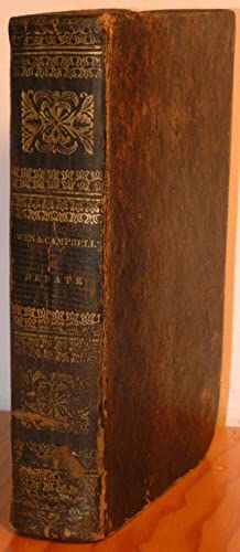 Debate on the Evidences of Christianity: Containing an Examination of: CAMPBELL, ALEXANDER.