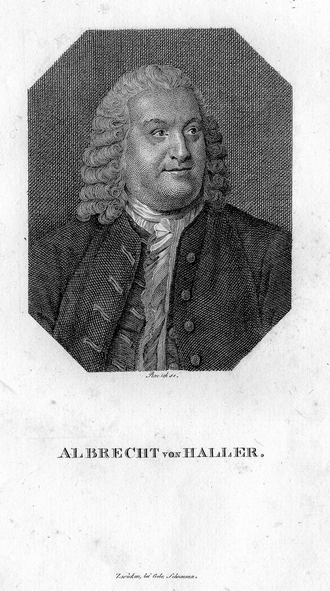 Albrecht von Haller (Bern 16. 10. 1708: HALLER, Albrecht von