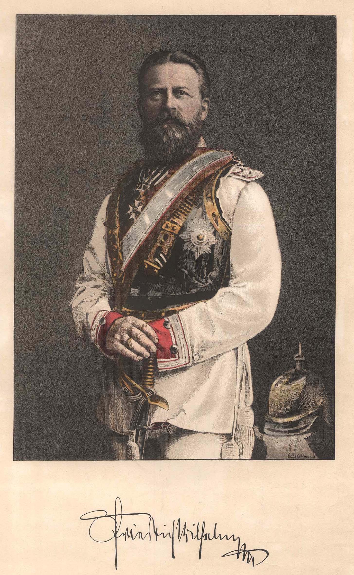 Friedrich Iii 1831 1888 Konig Von Preussen Zvab