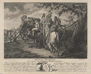 Moritz Prinz von Anhalt-Dessau (Dessau 31. 10.: MORITZ (1712-1760) Prinz