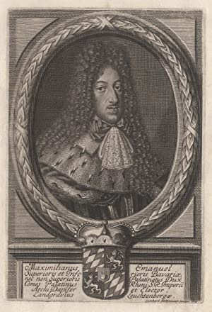 Maximilian II. Emanuel Ludwig Maria Joseph Kajetan: MAXIMILIAN II. Emanuel