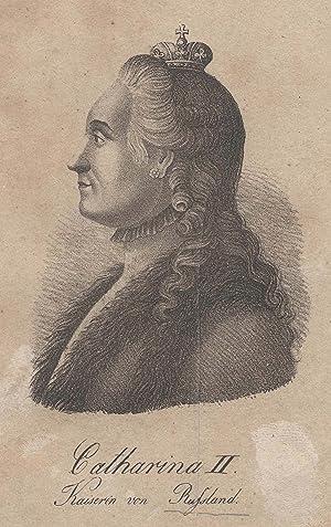 Katharina II., genannt Katharina die Große (Stettin: KATHARINA II. (1729-1796)