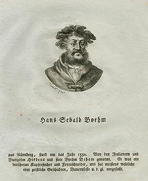 Nürnberg 1500 - 22. 11. 1550 Frankf.: BEHAM, Hans Sebald