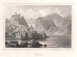 "Gesamtansicht, ""Curzola"".: KORCULA ( Insel"