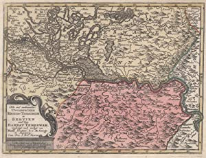 "Kupferstich- Karte, b. M. Seutter, ""Neu und: BANAT:"