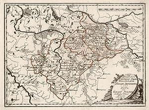 """Kupferstich- Karte, b. Reilly, """"Des Königlichen Republik: WESTPOLEN:"""