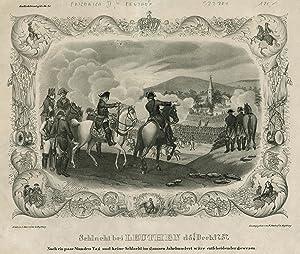 Berlin 24. 01. 1712 - 17. 08.: FRIEDRICH II., der