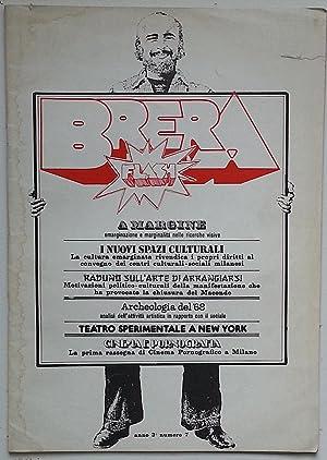 Brera Flash, Anno 3°, numero 7, 1978: LA PIETRA Ugo