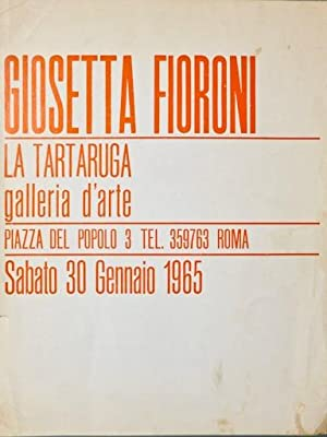 Giosetta Fioroni. La Tartaruga, 1965: FIORONI Giosetta