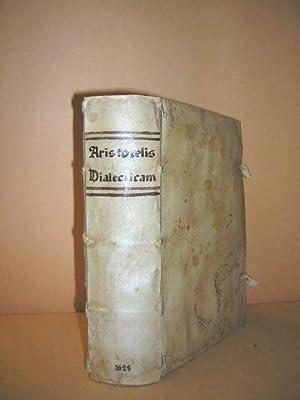 ARTIUM CURSUS sive Disputationes in Aristotelis Dialecticam, et Philosophiam naturalem. Iuxta ...