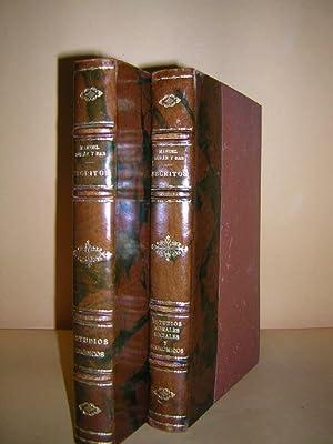 ESCRITOS. Primera serie. ESTUDIOS JURÍDICOS. Con una introducción de Luciano Ribera. Segunda serie....