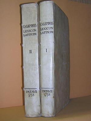 Septem linguarum Calepinus, hoc est Lexicon latinum.: Calepino, Ambrogio