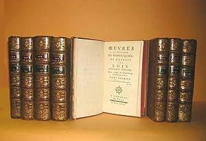 Oeuvres. Nouvelle édition revue, corrigée, et considérablement: Montesquieu (Charles Secondat,
