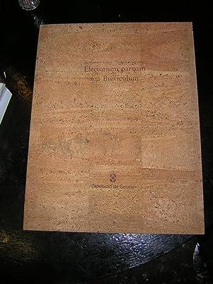 Electorium parvum seu Breviculum. Edició coordinada per Albert Hauf: Lullus, Raimundus (...