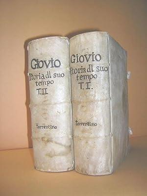 La Prima parte dell'Historie del suo tempo: Giovio, Paolo (Jovius,