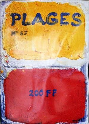 Plages. no. 33 - 68.: Gutierrez, Roberto (editor