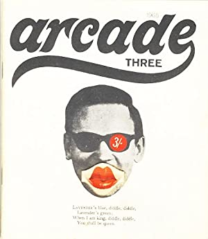 Arcade. (nr. 3 of 5 published) Three.: Leman, Martin (ed.)