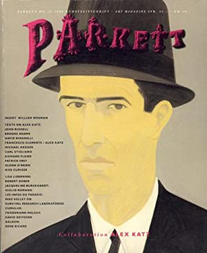 Parkett No.21. Collaboration Alex Katz.