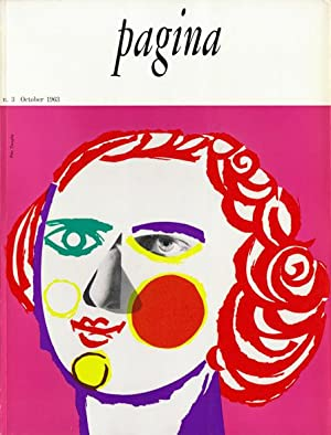 Pagina 3 : Rivista Internazionale Della Grafica Contemporanea. October 1963. (here one of seven i...
