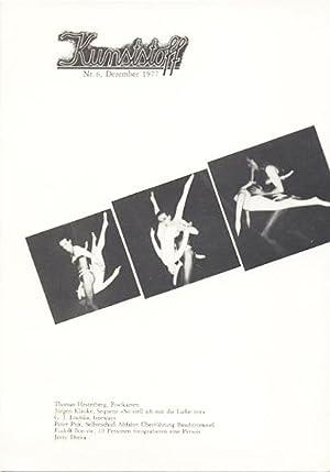 Kunststoff Nr. 5. + 6.: Bonvie, Rudolf - Jürgen Klauke.