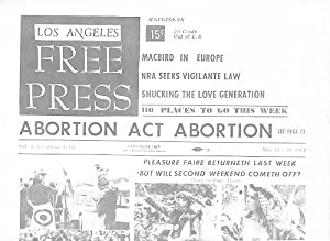 Los Angeles Free Press Vol. 4, #19 (Issue #147) May 12 / 18, 1967.