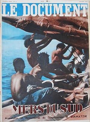 Mers du Sud, Aventures et Découvertes de: Hugo Bernatzik. Fort Georges & Collectif (ed. )