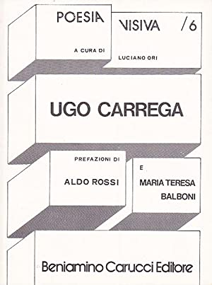 Ugo Carrega. Collana die poesia visiva a: Carrega, Ugo -