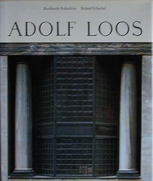 Adolf Loos. Leben und Werk. Herausgegeben von der Graphischen Sammlung Albertina: Burkhardt ...