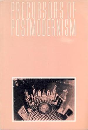 Precursors of Post-Modernism. Milan1920 - 30s: Ambasz, Emilio (pref.)