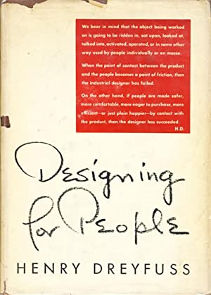 Designing For People.: Dreyfuss, Henry.