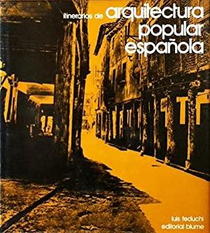 Itinerarios de arquitectura popular española. 2 volumes (of 5 published) Vol. 1: La meseta ...